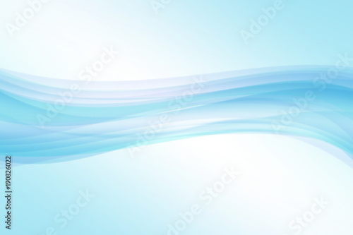 Foto op Plexiglas Abstract wave blue wave abstract background