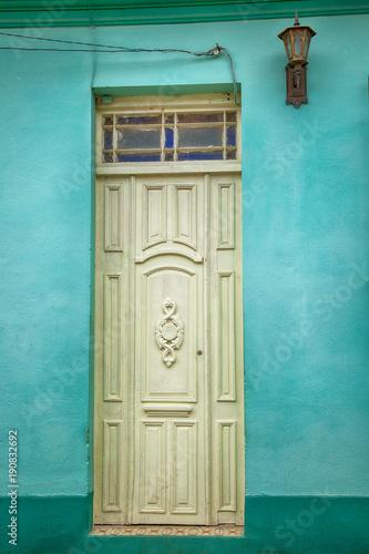 Doors in Cienfuegos, Cuba