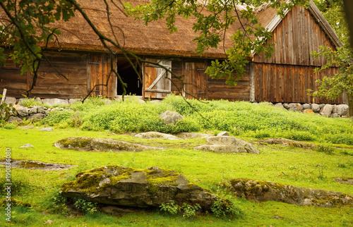 Foto op Canvas Stockholm Traditional farm in Sweden
