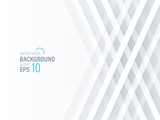 Fototapety Abstract Modern White Background, Wallpaper ,Banner ,Presentation Background ,Vector , Illustration