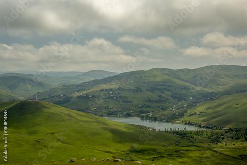 Fotobehang Bleke violet Persembe Plateau , ( Thursday Plateau ) Aybasti, Ordu, Turkey