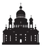 silhouette Ushakov Cathedral