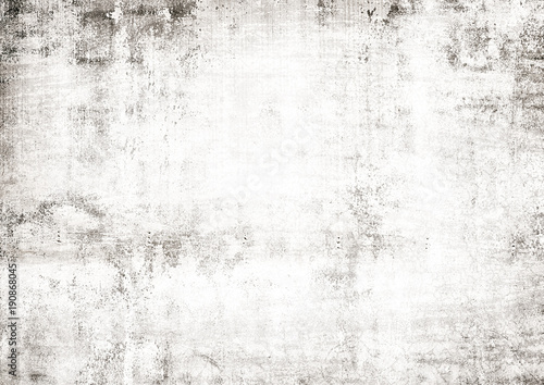 canvas print picture Old weathered concrete wall - background