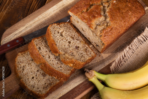 Banana Nut Sweet Bread
