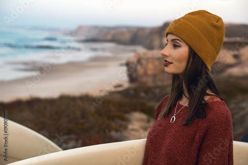 Foto Murales Surfer girl
