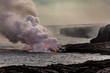 Lava Entering Water