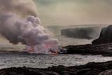 Lava Entering Water - 190910849