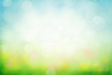 Fototapeta Fototapety na sufit - Sunny spring meadow blur background © Mariusz Blach