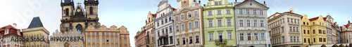 Foto op Canvas Praag Old Town panorama