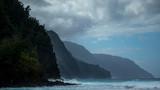 Scenic view of the Na Pali coast in the Kauai island of Hawaii - 190930680