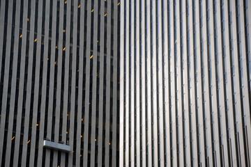 Detalle de Rascacielos en el distrito financiero de Manhattan, Nueva York