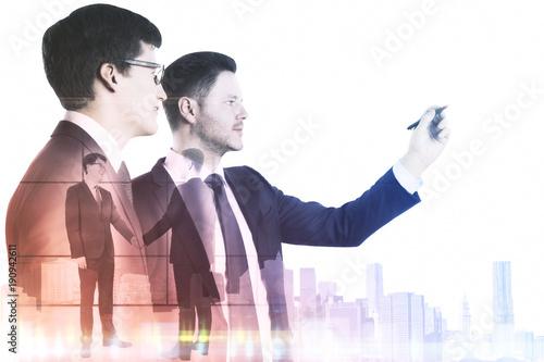 Teamwork and success concept