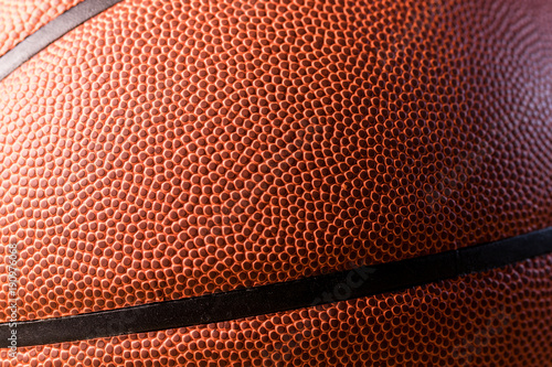 Aluminium Basketbal Basketball skin texture