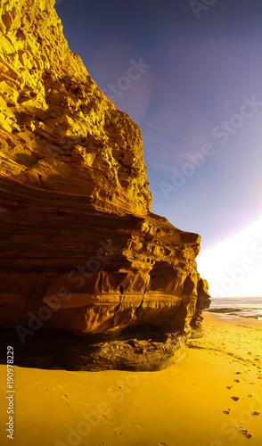 Keuken foto achterwand Honing Sunset Cliffs, San Diego, CA
