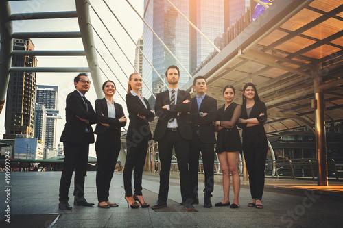 Fototapeta Professional business team