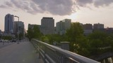 Panning View of Ottawa Downtown Core and Rideau Canal in Summer - 190994075