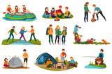 Camping People Set - 190994425