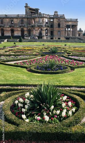 garden witley court worcestershire england uk