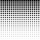 Black Abstract Halftone Square Dot Background. Vector illustration. - 191007093
