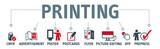 Banner printing vector design concept - 191007249