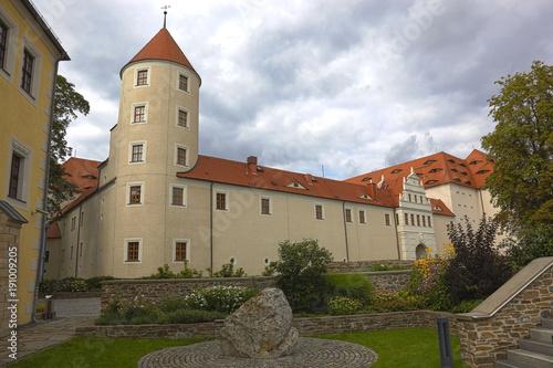 Leinwanddruck Bild Freudenstein, Freiberg, Landkreis Mittelsachsen, Deutschland