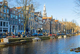 City scenic from Amsterdam in the Netherlands - 191025256