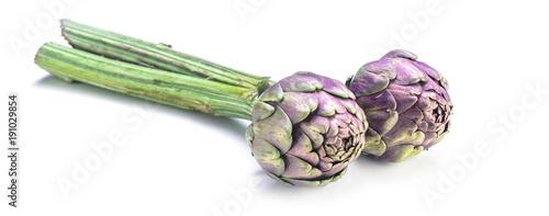 Fotobehang Verse groenten Frische Artischoken