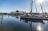 Mystic Seaport with docks - 191045268
