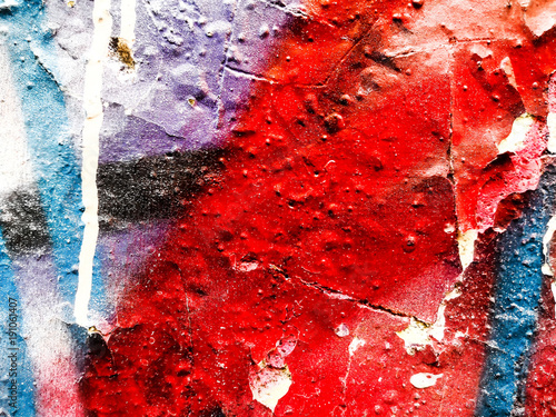 Deurstickers Graffiti Artistic Graffiti abstract background for your text or image
