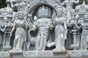 Hindu Deities Statue in Batu Caves Malaysia