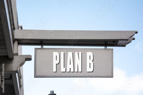 Schild 267 - Plan B