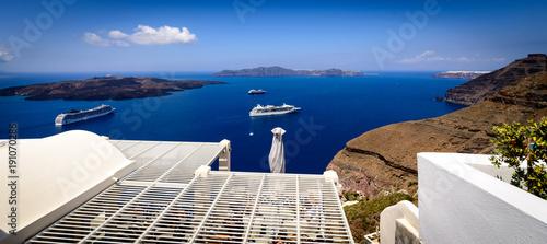Fotobehang Santorini Santorini, Greece
