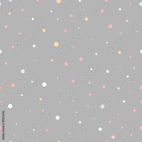 Seamless vector pattern. Scrapbooking, background, wrapping pape