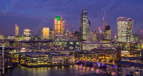 Staande foto Londen The city of London