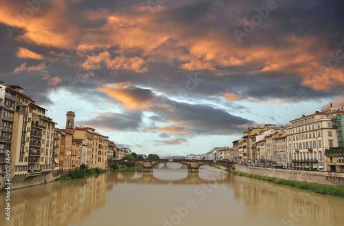 I ponti sul fiume Arno