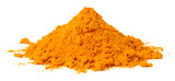 turmeric powder isolated on the white background - 191086446