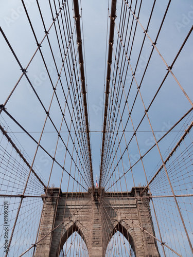 Fotobehang Brooklyn Bridge Brooklyn Bridge NYC