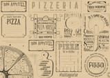 Placemat for Pizzeria - 191092434