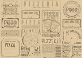 Placemat for Pizzeria - 191095031