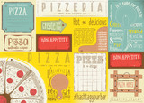 Placemat for Pizzeria - 191095267