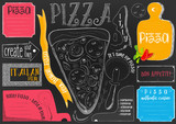 Placemat for Pizzeria - 191095472