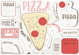 Placemat for Pizzeria - 191095629