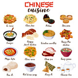 Chinese Food Cuisine...