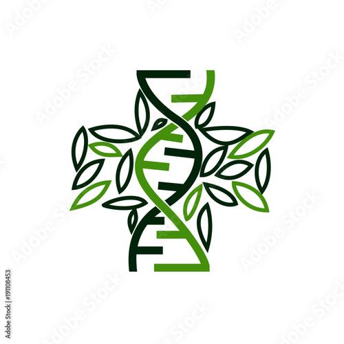 dna cross health logo