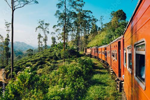 Best train ride in Sri Lanka