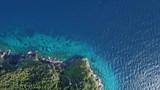 Coastline and sea, aerial photo - 191117646