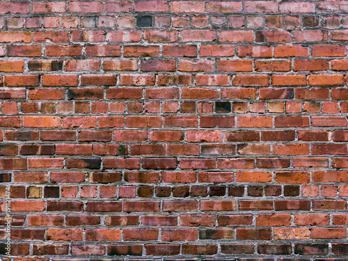 Foto op Plexiglas Baksteen muur Seattle Bricks 1