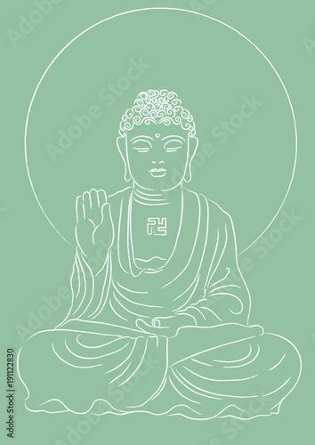 Fotobehang Boeddha budha