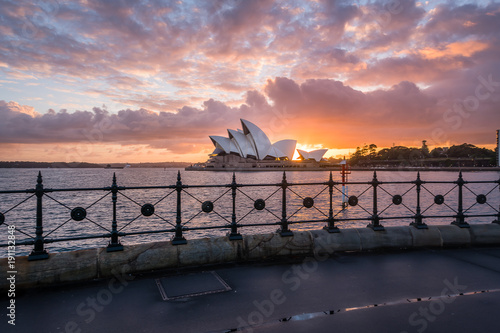 Sunrise from Dawes Point © Chris