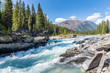 The Cascading Kootenay River